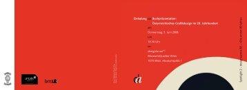 Einladung PDF - Universität für angewandte Kunst Wien