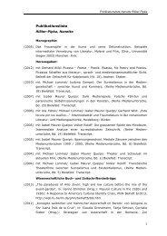 Publikationsliste - Universität Augsburg