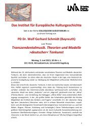 Transzendentalmusik. Theorien und Modelle ›deutscher‹ Tonkunst