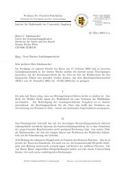 Professor Dr. Friedrich Pukelsheim Institut für Mathematik der ...