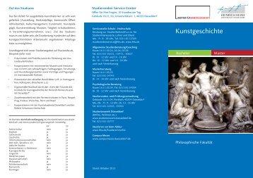Kunstgeschichte - Heinrich-Heine-Universität Düsseldorf