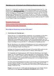 Überleitung in den Tarifvertrag für den öffentlichen Dienst der Länder