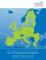 Das 7. EU-Forschungsrahmenprogramm - Heinrich-Heine ...