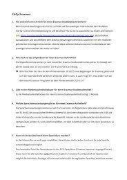 FAQs Erasmus - Heinrich-Heine-Universität Düsseldorf