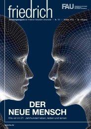 DER NEUE MENSCH - Friedrich-Alexander-Universität Erlangen ...