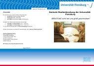Zentrale Studienberatung - Universität Flensburg
