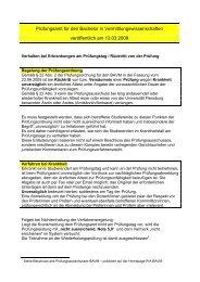 Prüfungen: Erkrankung am Prüfungstag (PDF) - Universität Flensburg