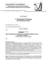 AnkündigungFT2012 - Universität Flensburg