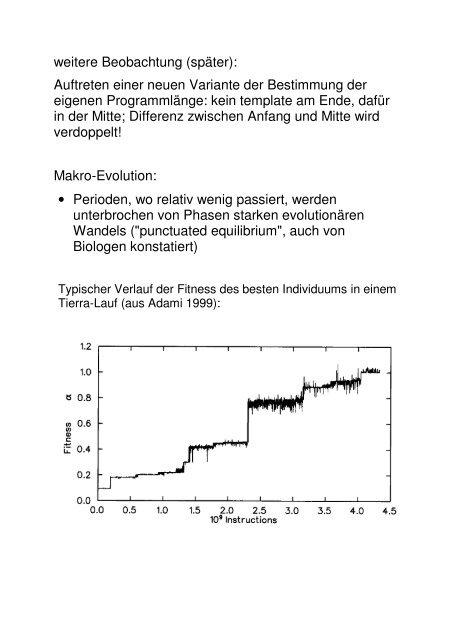 Evolution (Fortsetzung) (PDF)