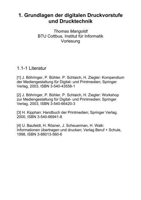 Standortbestimmung Der Druckindustrie Druckverfahren Pdf