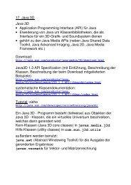 Grundzüge von Java 3D (PDF)