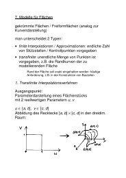 Modelle für Flächen (PDF)