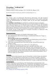 Themenliste / Quellen - GWDG