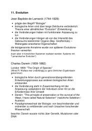 Teil 11: Evolution (PDF)