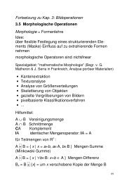 Morphologische Operationen (PDF)