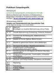 Einleitung; Licht, Sehen, Farbe (1) (PDF) - Fakultät für ...