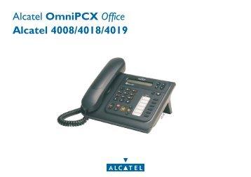 Bedienungsanleitung Alcatel 4019