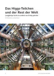 Das higgs-teilchen und der rest der welt - Justus-Liebig-Universität ...
