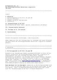 EL-Newsletter Nr. 12, SS 2012 - Justus-Liebig-Universität Gießen