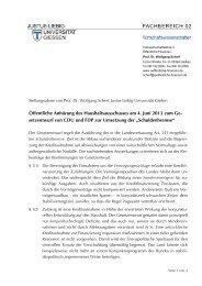 """setzentwurf von CDU und FDP zur Umsetzung der """"Schulde"""