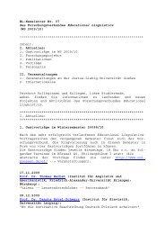EL-Newsletter Nr. 07, WS 2009/10 - Justus-Liebig-Universität Gießen