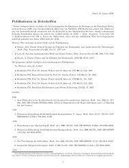 Vollständige Publikationsliste - Justus-Liebig-Universität Gießen