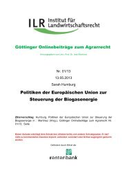 01/13 S. Humburg, Politiken der Europäischen Union zur Steuerung ...