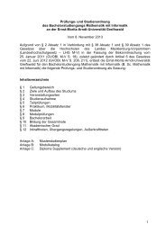 1 Prüfungs - Ernst-Moritz-Arndt-Universität Greifswald