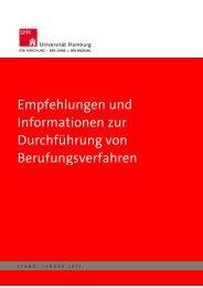 Empfehlungen und Informationen zur Durchführung von ...