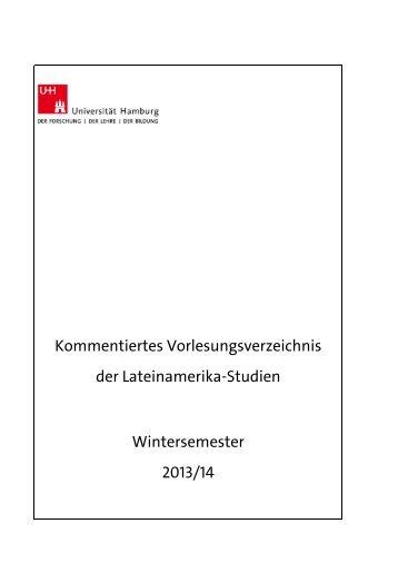 KVV Wintersemester 2013/14