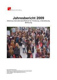 Jahresbericht 2009 (PDF) - Universität Hamburg