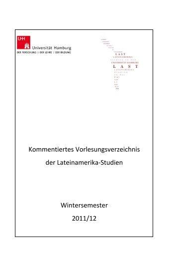 KVV Wintersemester 2011/12