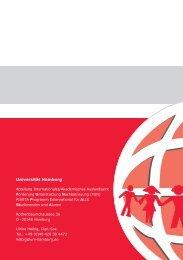 Programmheft SoSe 2008 (PDF) - Universität Hamburg