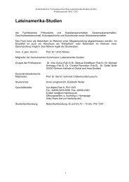 KVV Wintersemester 2010/11