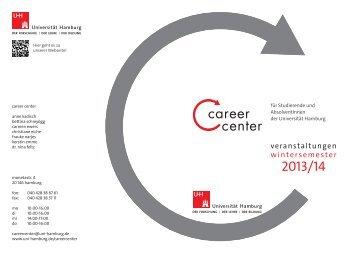 Programm für Studierende und AbsolventInnen WiSe 2013/14 (PDF)