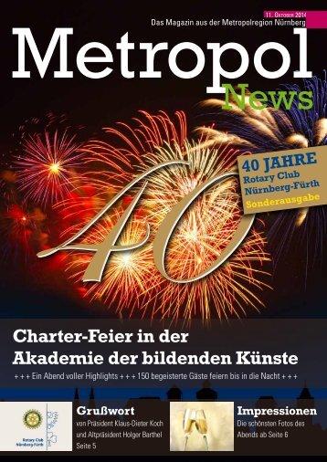 Rotary Charter-Feier - 40 Jahre Rotary Club Nürnberg-Fürth