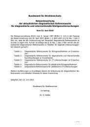 diagnostische Referenzwerte - Bundesamt für Strahlenschutz