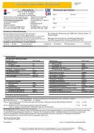 Molekulargenetische Diagnostik (UKSH-intern)