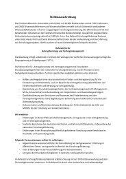 Stellenausschreibung - Christian-Albrechts-Universität zu Kiel