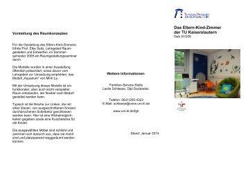 Das Eltern-Kind-Zimmer der TU Kaiserslautern