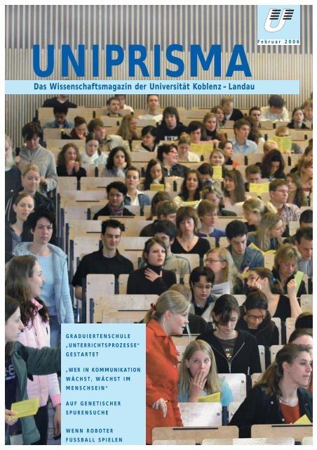 Ausgabe 2006 - Universität Koblenz · Landau