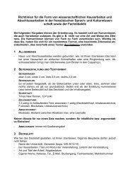 und MA-Arbeiten in der Sprach - Universität Koblenz · Landau