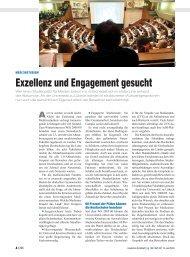 Exzellenz und Engagement gesucht - Universität zu Lübeck