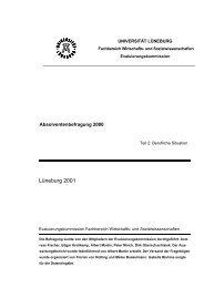 Lüneburg 2001 - Leuphana Universität Lüneburg