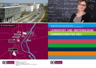 sommersemester 2013 - Otto-von-Guericke-Universität Magdeburg