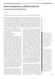 strukturwandel im bankensektor - Otto-von-Guericke-Universität ...