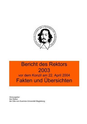 1. Studium, Lehre, Weiterbildung - Otto-von-Guericke-Universität ...