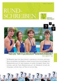 Rundschreiben der Südtiroler Bauernjugend Nr. 03 / 2014