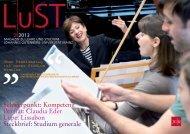 Magazin zu Lehre und Studium - Johannes Gutenberg-Universität ...