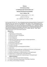 Ordnung für die Diplomprüfung im Studiengang Sportwissenschaft ...